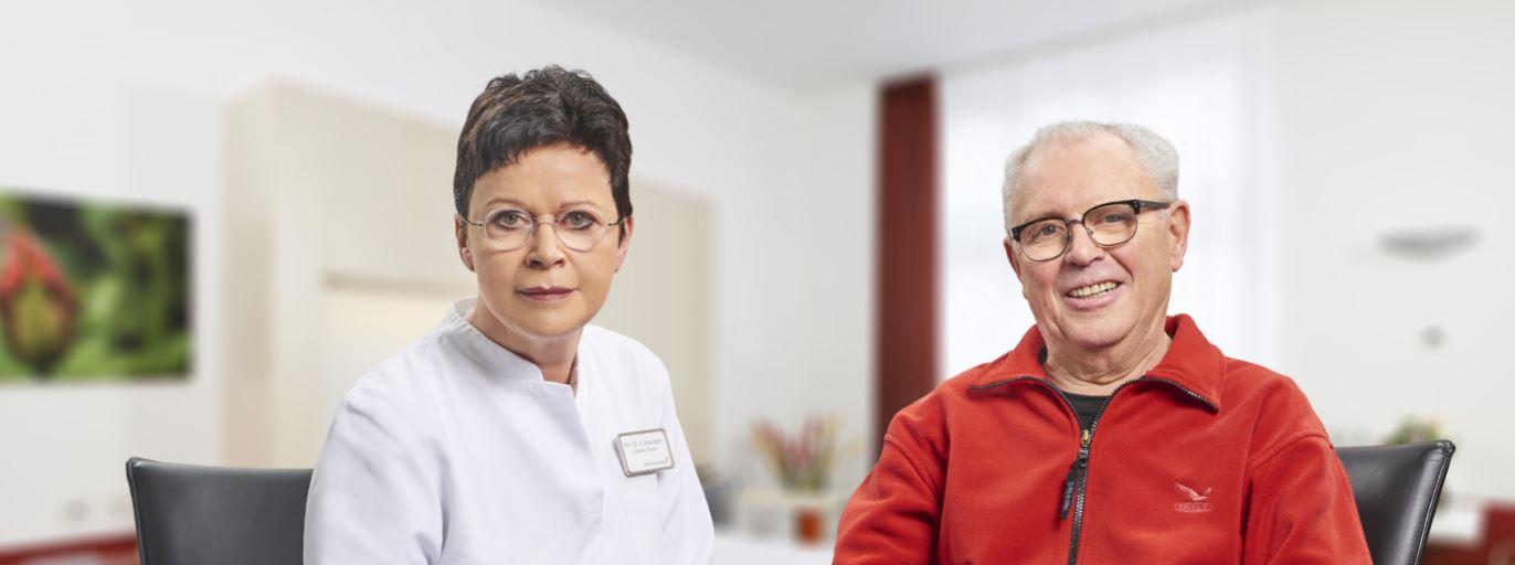 Prof. Welz-Barth und ihr Team halfen mir nach meiner Darm-OP wieder schnell ein eigenständiges Leben führen zu können